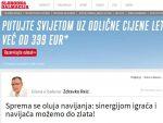 ОЛУЈА, ОЛУЈА СЕ СПРЕМА: Хрватски медиj безобразно најавио дуел против Србије!