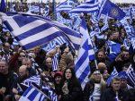 СТОТИНЕ ХИЉАДА ГРКА НА УЛИЦАМА СОЛУНА: Демонстрације против Македоније