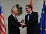 ВУЧИЋ СА ЏОНСОНОМ: Тражио сам од сенатора да помогне, да замоли Албанце на компромис