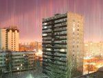 МАТРИКС НАД САНКТ ПЕТЕРБУРГОМ: Џиновски снопови светлости окупирали небо