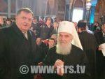 БЕОГРАД: Лавров, Додик и Вучић присуствовали представљању мозаика у Храму Св. Саве