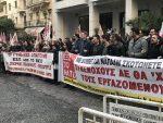 ДОБРО ЗНАМО ШТА ЈЕ НАТО: Сипају бомбе са осиромашеним уранијумом на српски народ – протест у Атини