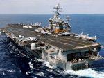 """ПРИТИСАК НА РУСИЈУ И СИРИЈУ: Ударна група око """"Хари Трумана"""" упловила у Средоземно море"""