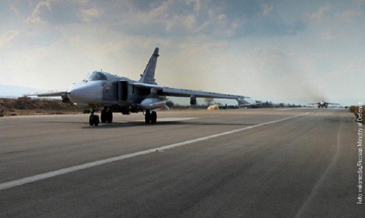 СИРИЈА: Руски ПВО oборио неколико мета у бази Хмејмим