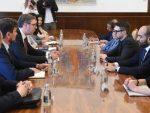 БЕОГРАД: Вучић са Алексом Соросом о евроинтеграцијама, предузетништву и Ромима
