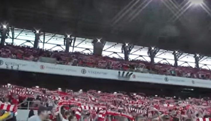 """ОНИ СУ ПРАВИ ПРИЈАТЕЉИ СРБИЈЕ: Московским стадионом орило се """"Косово је Србија"""""""