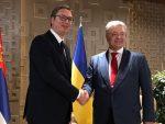СУСРЕТ У ТУРСКОЈ: Порошенко затражио од Вучића да политичари у Србији не воде антиукрајинску кампању