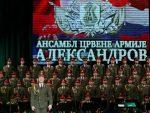 """ДАХ РУСИЈЕ У БЕОГРАДУ: Хор """"Александров"""" одржао концерт испред Храма Светог Саве"""