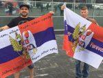 РУСИ ДОЧЕКАЛИ ФУДБАЛЕРЕ СРБИЈЕ: Једна боја, једна вера, једна крв!