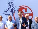 ВУЧИЋ: Ја сам за разграничење са Албанцима