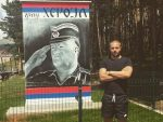 У ЧАСТ ГЕНЕРАЛУ: Бивши рукометни ас подигао споменик Ратку Младићу
