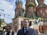 ПРЕДСЕДНИК СРБИЈЕ У МОСКВИ: Са Путином о региону, пројектима и односима две земље
