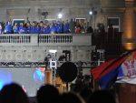 """ОНЕ СУ НАЈБОЉЕ НА СВЕТУ: Хиљаде Београђана поздравило """"златне"""" одбојкашице"""