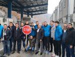 СТОП И ЗА СПОРТИСТЕ: Партизан заустављен на Јарињу