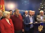 ДЕМОКРАТСКИ ФРОНТ: Цела Црна Гора зна да смо у праву