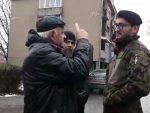 ДРАГОМИР ИЗ СЕВЕРНЕ МИТРОВИЦЕ У ЛИЦЕ ОФИЦИРУ КФОР-А: Чак и када нам забране да овде запалимо свећу, ово ће бити Србија!