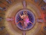 СИМБОЛИЧНО: Путин и Вучић постављају мозаик у Храму Светог Саве
