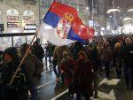 """БЕОГРАД: Одржан пети протест """"Један од пет милиона"""""""