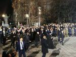 ПРЕДСЕДНИК РУСИЈЕ У БЕОГРАДУ: Тренутак кад је Путин напустио протокол и пришао окупљеним грађанима