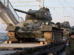 ОНИ СУ ЗАУСТАВИЛИ ХИТЛЕРА: Почаст за легендарне тенкове Т-34 дуж транссибирске пруге