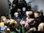 """БЕОГРАД: Протест """"Један од пет милиона"""", демонстранти у згради РТС-а"""