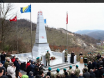 ЛУДИЛО У БИХ-А: Подигнут споменик у част побједе Османлија