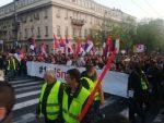 """БЕОГРАД: Нови протест """"Један од пет милиона"""""""