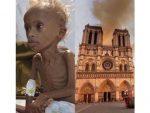 """РЕГИОНАЛНИ МЕДИЈИ: """"За Нотр Дам скупљено милијарду евра, а дјеца гладују. Је ли то лицемјерно?"""""""