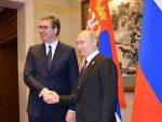 ВУЧИЋ: Русија неће дозволити да било ко дира Србију
