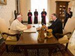 ВАТИКАН: Додик се састао са папом Фрањом: Наставити сарадњу са Католичком црквом