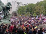 """БЕОГРАД: Протест """"Сви као један – 1 од 5 милиона"""""""