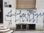 Сплит: Префарбани усташки, остали нацистички графити
