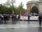 """ПОД СРПСКИМ И РУСКИМ ЗАСТАВАМА: """"Бесмртни пук"""" на улицама Београда"""