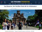 Фигаро: Српски дух отпора, 100.000 опкољено с два милиона Албанаца