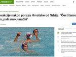 СРБИ ДВА ПУТА У 4 ДАНА АПЛАУДИРАЛИ НАШОЈ ХИМНИ: Хрвати одушевљени пријемом у Београду, признају да су Делфини бољи!
