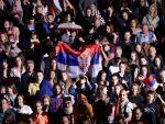 """ВЕЛИЧАНСТВЕН ДОЧЕК ЗА ОДБОЈКАШИЦЕ: """"Боже правде"""" се ори Београдом"""