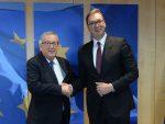 ВУЧИЋ У БРИСЕЛУ: Бићемо на европском путу, иако није јасно шта ће да се збива са ЕУ
