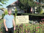 ЛЕКЦИЈА ПОНОСА И ХРАБРОСТИ СА КОСОВА: Андрија Симић из Лапљег Села:  Моја кућа није на продају!