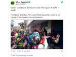 ПОКУШАЈ ДРЖАВНОГ УДАРА: Опозиција у Боливији заузела државни радио и телевизију /видео/