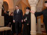 Вучић после разговора са патријархом Иринејом: Надам се да нико нема идеју да заузима Острог