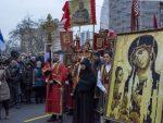Београд: Патријарх служио молебан за Србе и светиње у Црној Гори