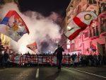 БЕОГРАД: Велики протест подршке српском народу и СПЦ у Црној Гори