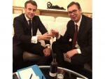 Макрон честитао Вучићу Дан државности Србије: Француска је уз Србију