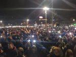 У ЛИТИЈИ 50.000 ЉУДИ: Никшић је вечерас центар одбране православља – митрополит предводи литију