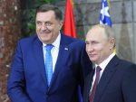 На позив Путина, Додик на Паради победе у Москви 24. јуна
