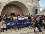 """ОРИ СЕ ПОДГОРИЦА: """"Не дамо те васкрсло Косово"""" (видео)"""