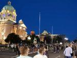 ИЗ МИНУТА У МИНУТ: Протест испред Скупштине, демонстранти носе иконе, нема инцидената