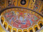"""У СЛАВУ БОГА: """"Нема речи којима се ово може описати"""": Завршена купола Храма Светог Саве у сликама"""
