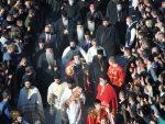 САХРАНА, НАРОДНИ САБОР И ВЕЛИКА ЛИТИЈА: Сахрана блаженопочившег митрополита Афмилохија, 1. новембар 2020,