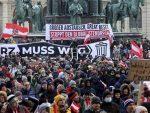 И АУСТРИЈАНЦИМА ЈЕ ПРЕКИПЕЛО: Велики протест против закључавања у Бечу